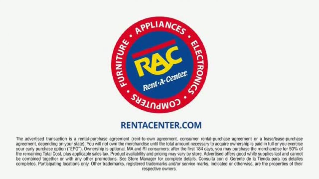 RentACenter Black Friday TV Commercial Ad $7 Pays.mp4
