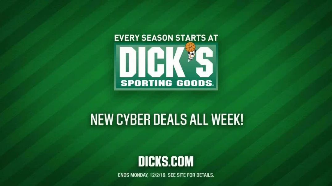 Dicks Sporting Goods Cyber Monday Sale TV Commercial Ad Nike, Adidas and More.mp4