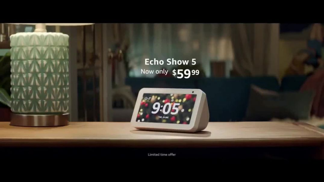 Amazon Echo Show 5 TV Commercial Ad Night Out $59.99 Song by The Blues Brothers.mp4