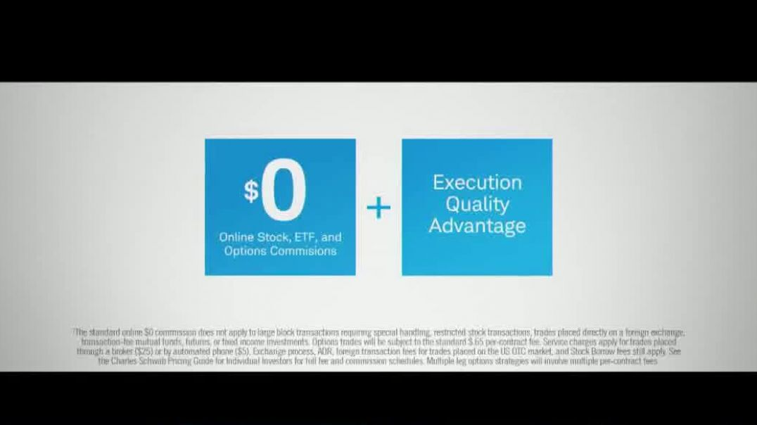 Charles Schwab TV Commercial Ad You Know Better Commission Free Online Trades.mp4