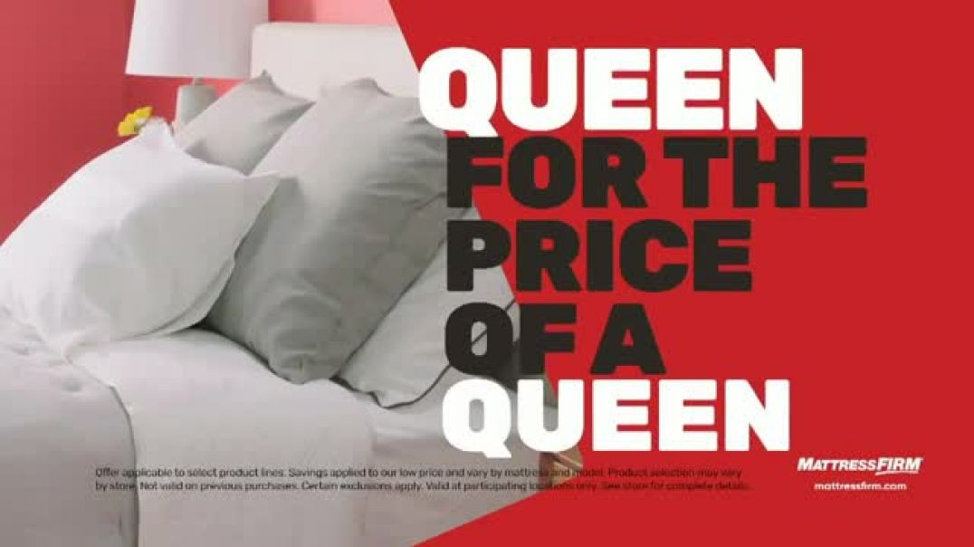 Mattress Firm Cyber Monday Sale TV Commercial Ad King for Queen.mp4