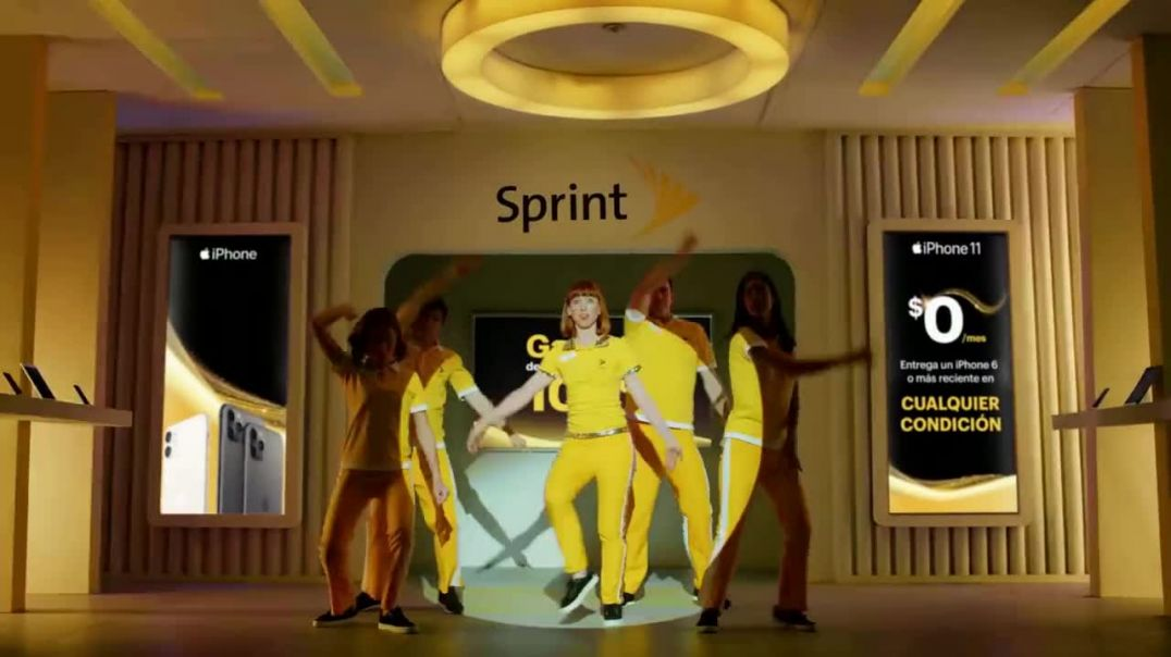 Sprint TV Commercial Ad Sprintpinela iPhone 11 $0 dólares.mp4