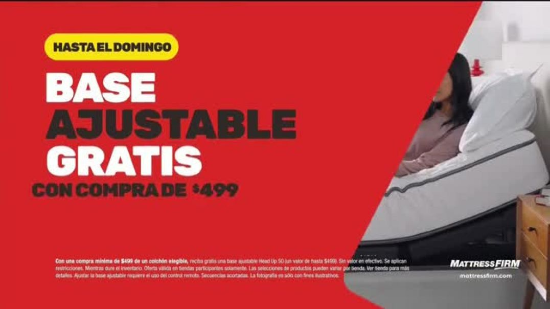 Mattress Firm Venta de Black Friday TV Commercial Ad Extendida ahorra $600 dólares.mp4