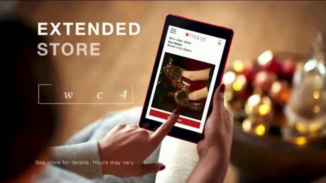 Macys TV Commercial Ad Holidays Fast InStore Pickup.mp4