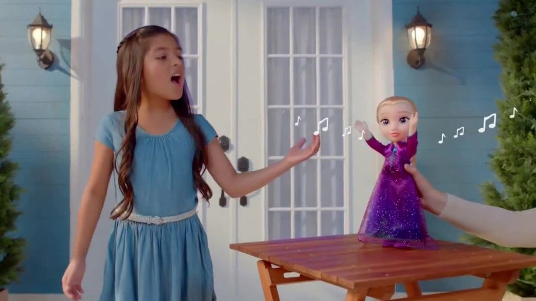 Disney Frozen II Into the Unknown Elsa Doll TV Commercial Ad Mysteries of the Past.mp4