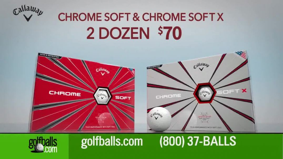 Golfballs.com TV Commercial Ad Give the Gift of Golf Titleist, Callaway & Taylormade.mp4
