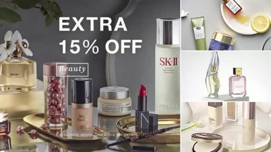 Macys Friends & Family TV Commercial Ad Extra 30 Percent Off Plus Beauty.mp4