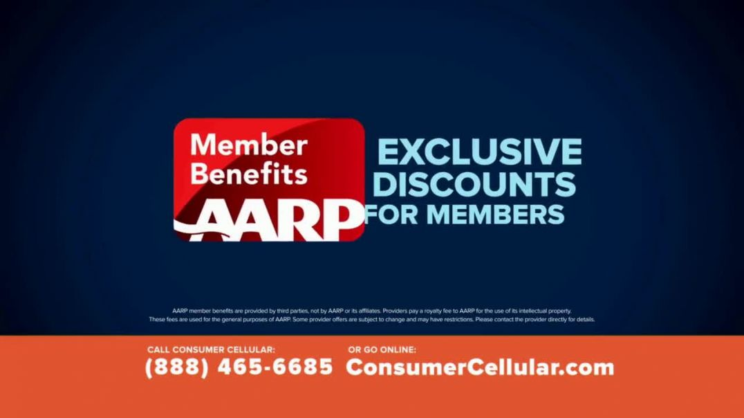 Consumer Cellular TV Commercial Ad Better Value Fishing Holiday $25 Credit.mp4