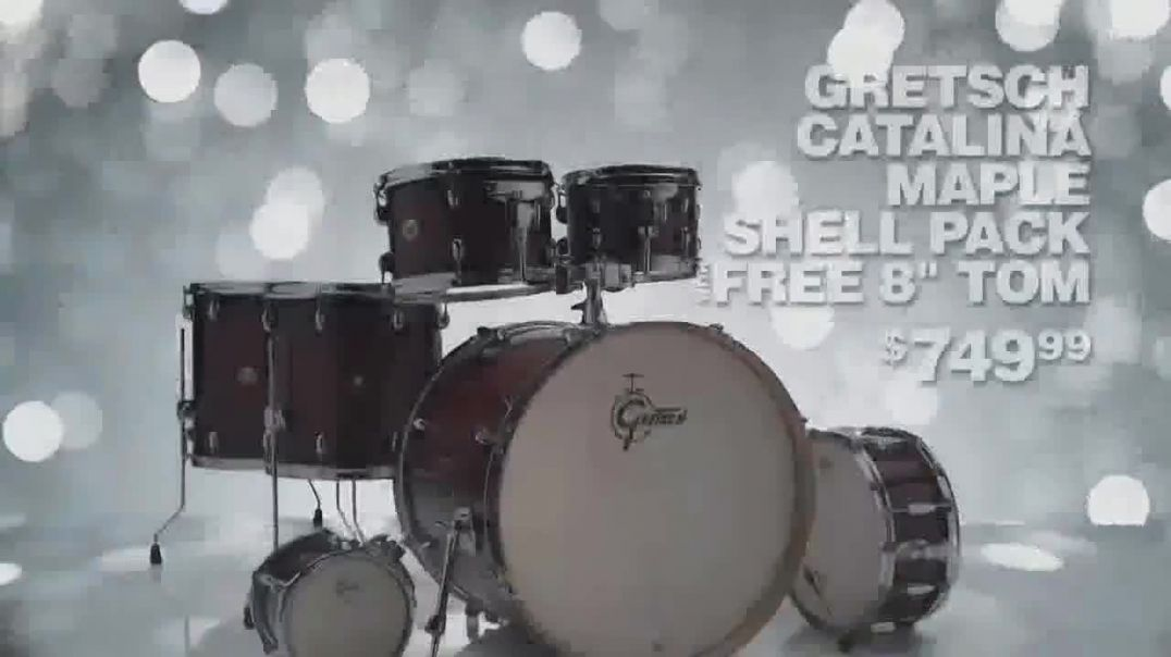 Guitar Center TV Commercial Ad Holidays Gretsch Shell Pack and Simmons Monitor Song by Lookas.mp4
