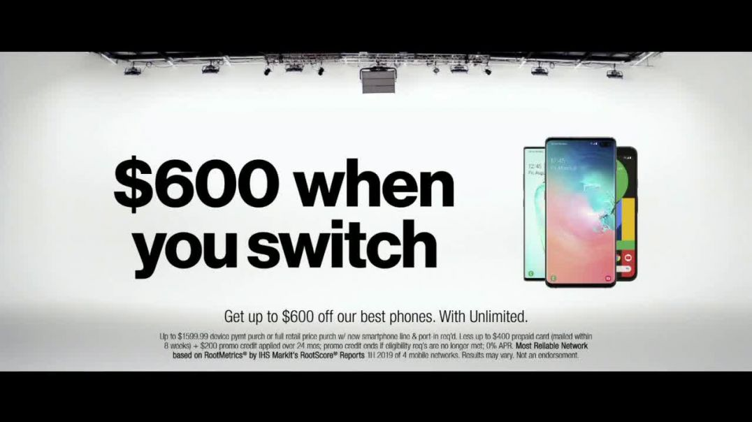 Verizon TV Commercial Ad Black Friday Weekend Disney+ and $600 Off.mp4
