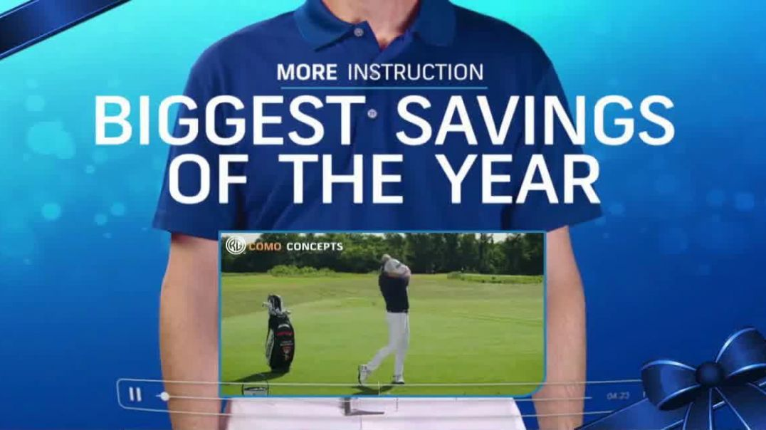 GolfPass TV Commercial Ad Holidays Unwrap the Lowest Prices of the Season.mp4