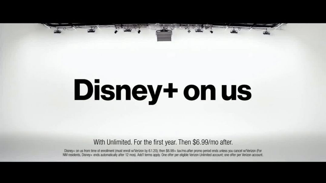 Verizon TV Commercial Ad Holidays Disney+ On Us Save $750.mp4
