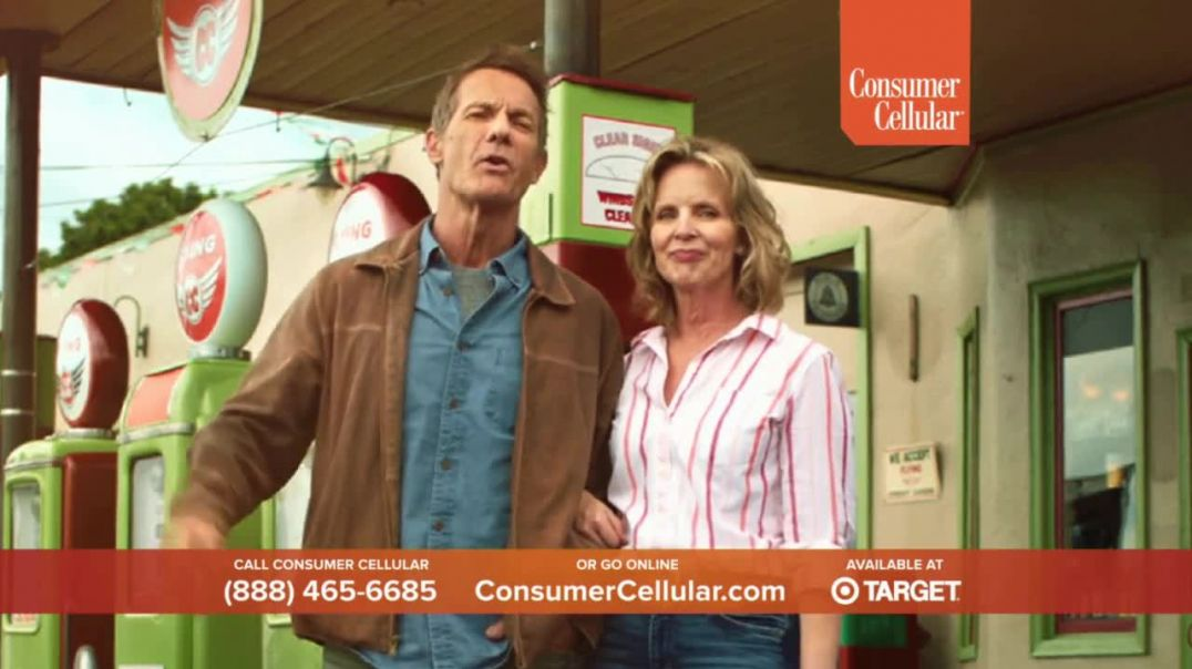 Consumer Cellular TV Commercial Ad Truck Holiday $25 Credit.mp4