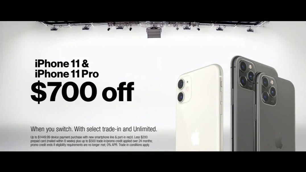 Verizon TV Commercial Ad Holidays $700 Off iPhone 11.mp4