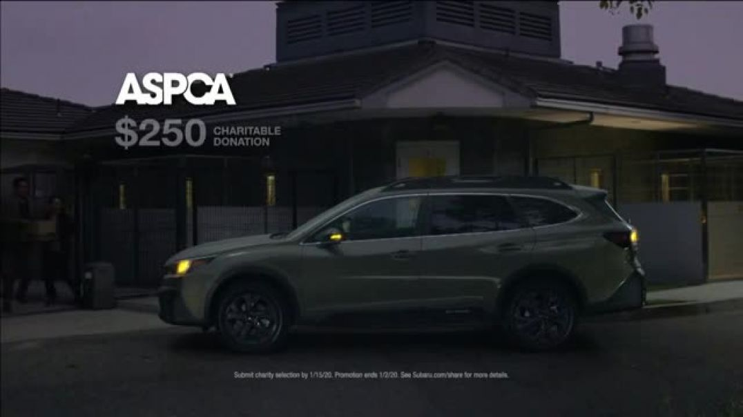 Subaru Share the Love Event TV Commercial Ad Night Visit.mp4