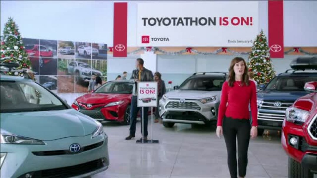 Toyota Toyotathon Holiday Sale Event TV Commercial Ad Santas Elves.mp4