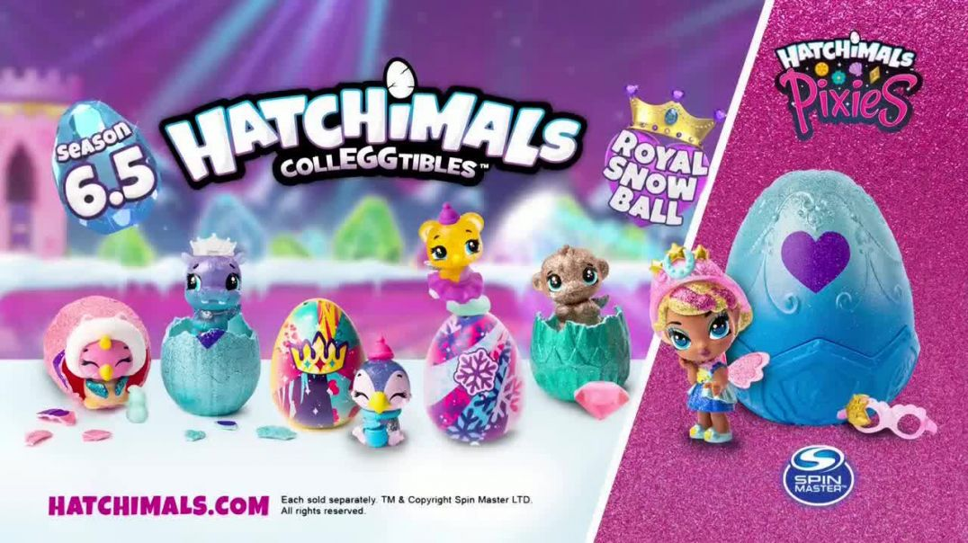 Hatchimals CollEGGtibles Season 6.5 The Royal Snow Ball TV Commercial Ad Accessories in Every Egg.mp