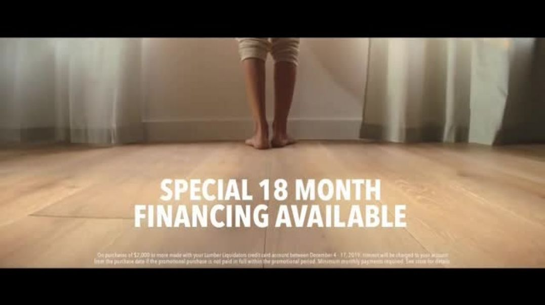Lumber Liquidators TV Commercial Ad Styles & Features Waterproof Flooring Song by The El
