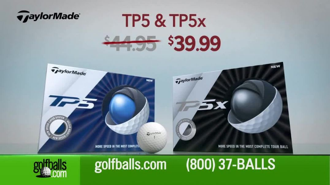 Golfballs.com TV Commercial Ad Give the Gift of Golf Titleist Pro, Callaway Chrome Soft and TaylorMa