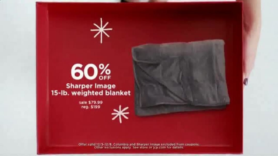 JCPenney Gift, Gift Hooray Sale TV Commercial Ad Spread Some Cheer.mp4