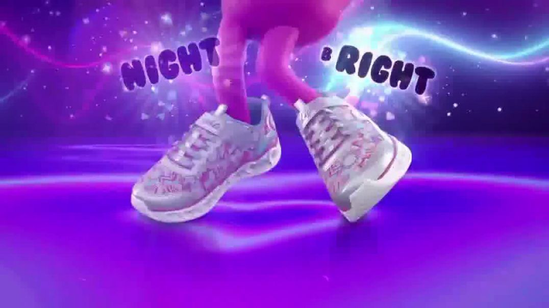 SKECHERS Heart Lights TV Commercial Ad Glitter and Glow.mp4