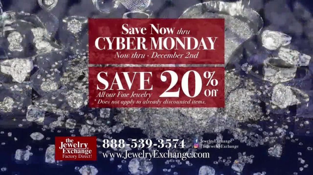 Jewelry Exchange TV Commercial Ad Cyber Monday Timeless Gift.mp4