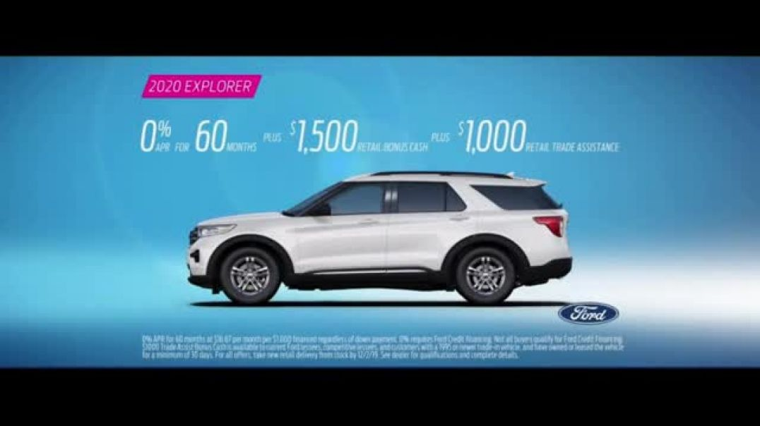 2020 Ford Explorer TV Commercial Ad Leading Lady Born to Roll Featuring Nicole Ari Parker.mp4