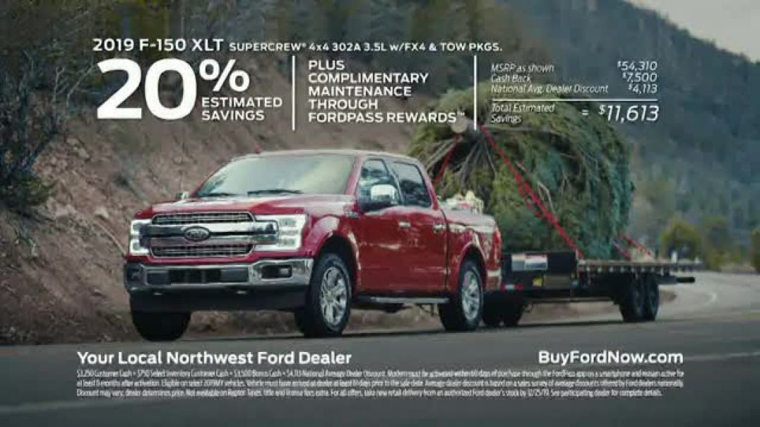 Ford Built for the Holidays Sales Event TV Commercial Ad Bring the Gifts and the Tree.mp4