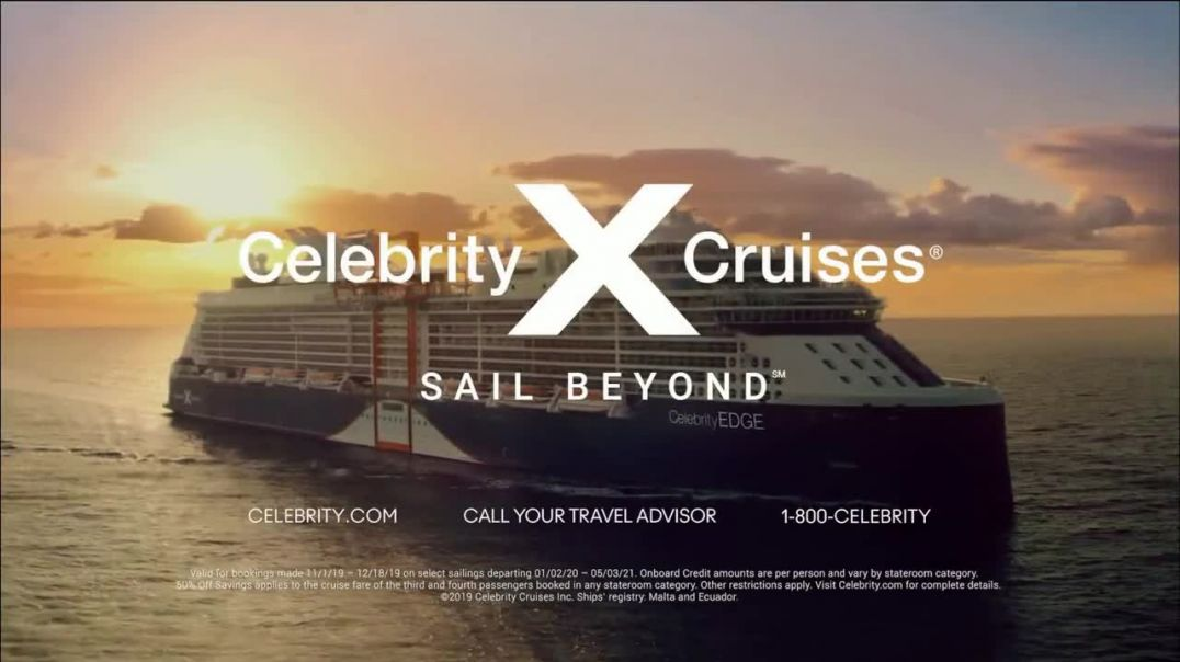 Celebrity Cruises TV Commercial Ad Wonder Awaits $100 to Spend Song by Jefferson Airplane.mp4