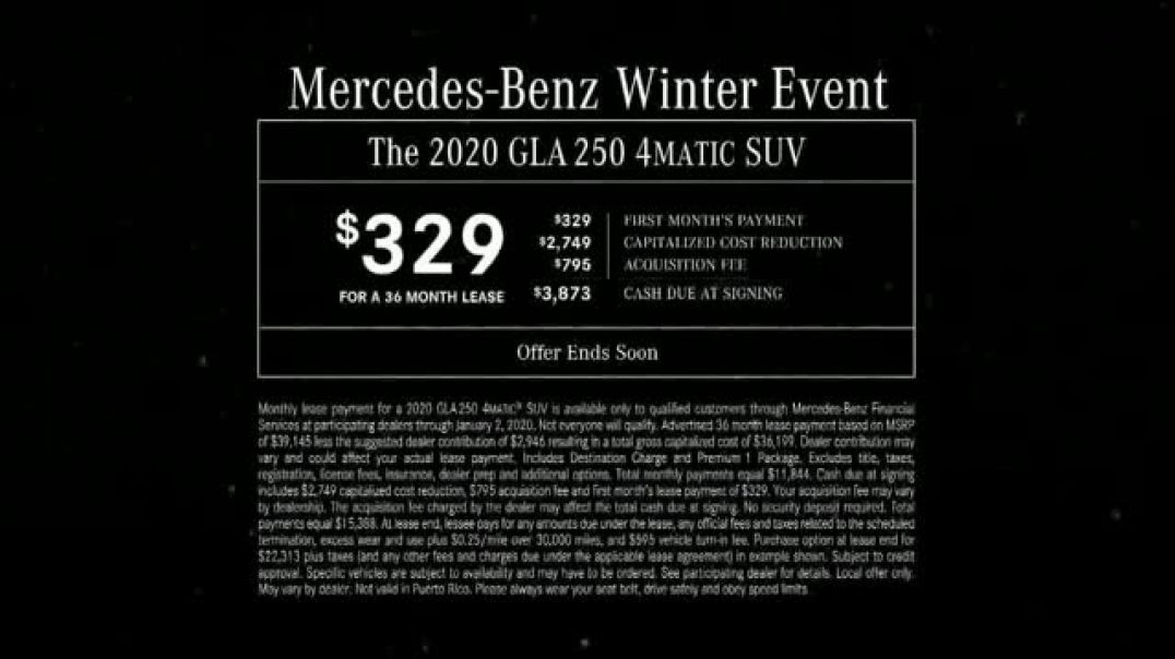 MercedesBenz Winter Event TV Commercial Ad Glow.mp4
