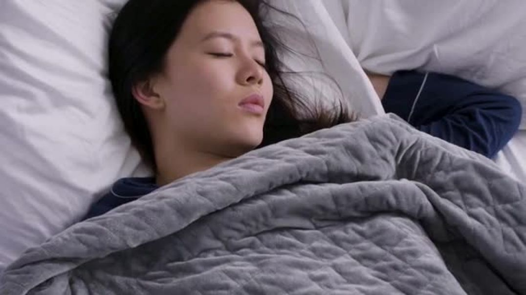 Gravity Blanket TV Commercial Ad Proven to Improve Sleep Save 25 Percent.mp4