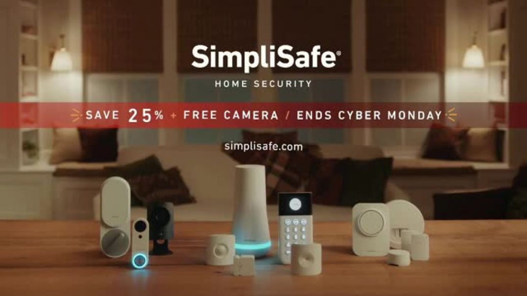 SimpliSafe TV Commercial Ad Robbert Like a Pro Save 25 Percent + Free Camera.mp4