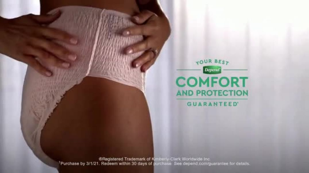Depend FITFLEX TV Commercial Ad Perfect Holiday Photo.mp4