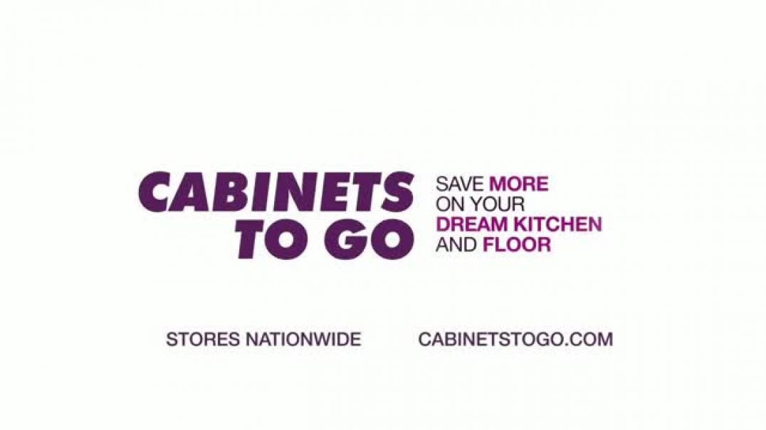 Cabinets To Go Black Friday Week TV Commercial Ad Dream Kitchen and BOGO Cabinets.mp4