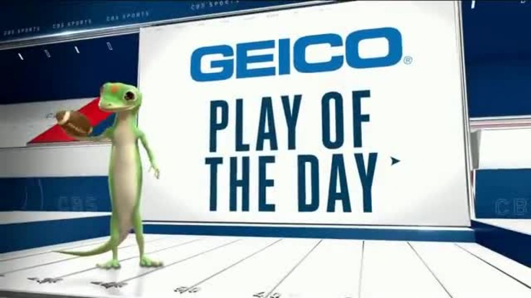 GEICO TV Commercial Ad Play of the Day Steven Sims Jr..mp4