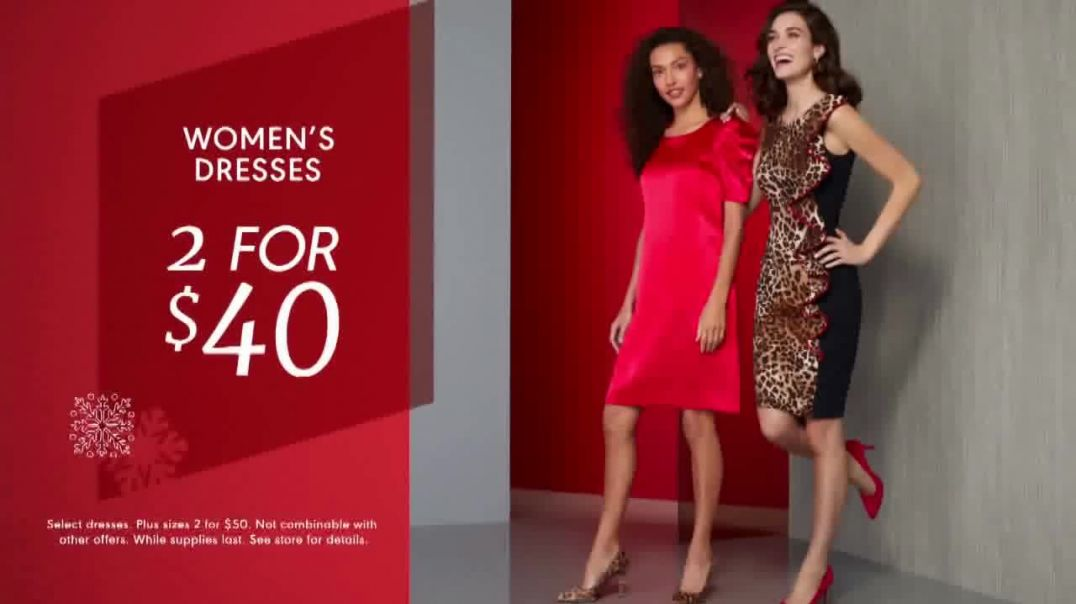 K&G Fashion Superstore Holiday Event TV Commercial Ad Womens Suit Separates, Womens Suit