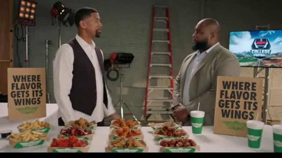 Wingstop TV Commercial Ad Senior Flavor Commentator Featuring Jalen Rose and Marcus Spears.mp4
