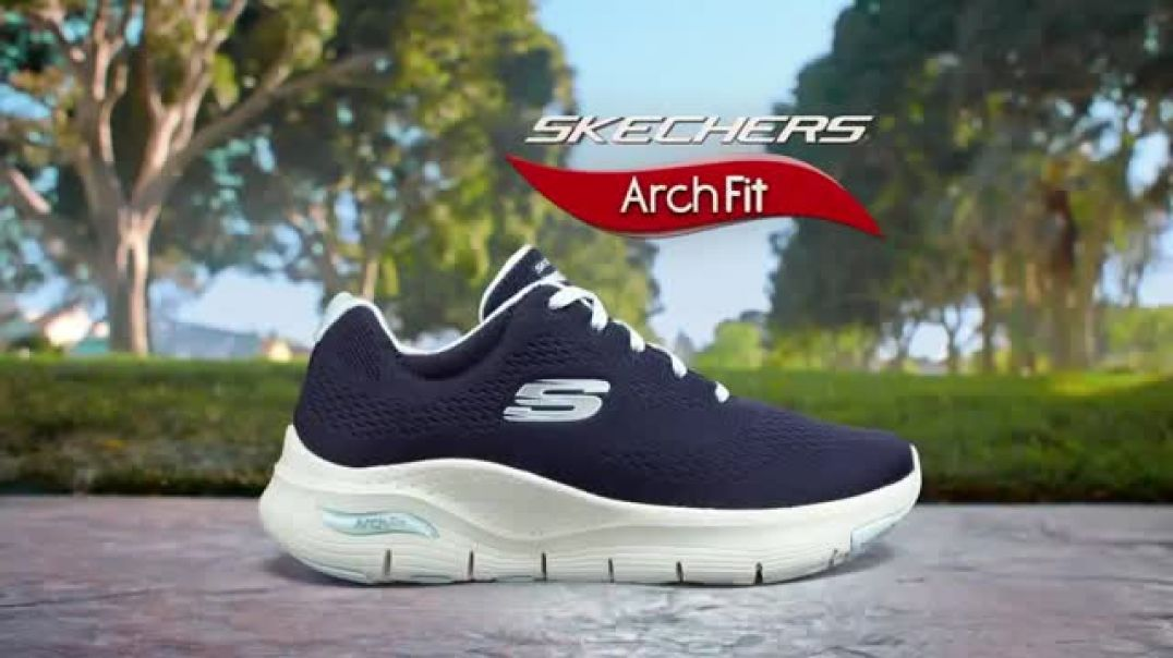 SKECHERS Arch Fit TV Commercial Ad Enjoy My Day Featuring Brooke Burke.mp4