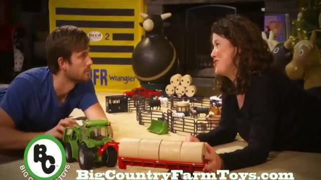 Big Country Toys TV Commercial Ad Holidays Set Up the Toys.mp4
