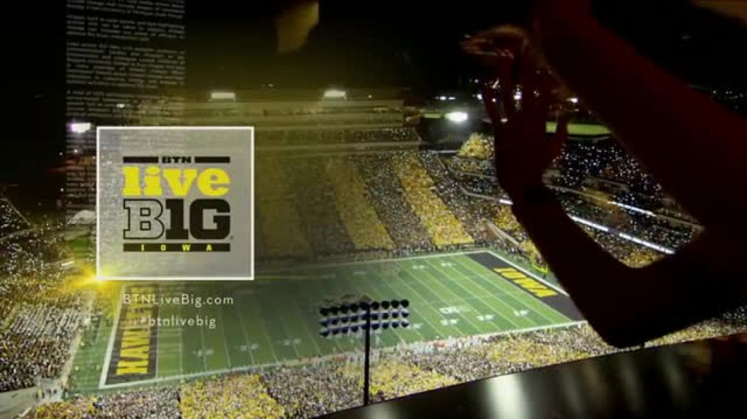 BTN LiveBIG TV Commercial Ad Iowa Boosts the Morale of Their Pediatric Patients.mp4