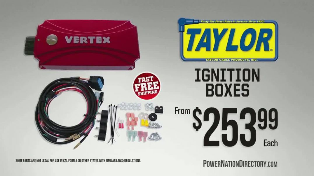 PowerNation Directory TV Commercial Ad, Gauge Sets and Ignition Boxes.mp4