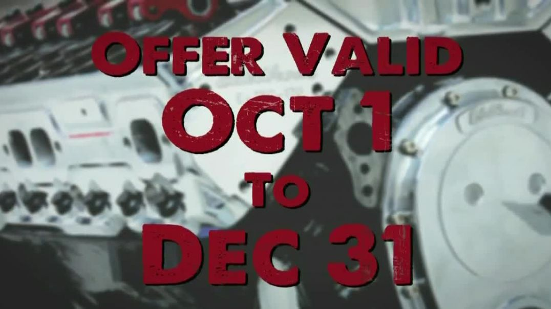 Edelbrock Total Power Package TV Commercial Ad, Top It Off.mp4