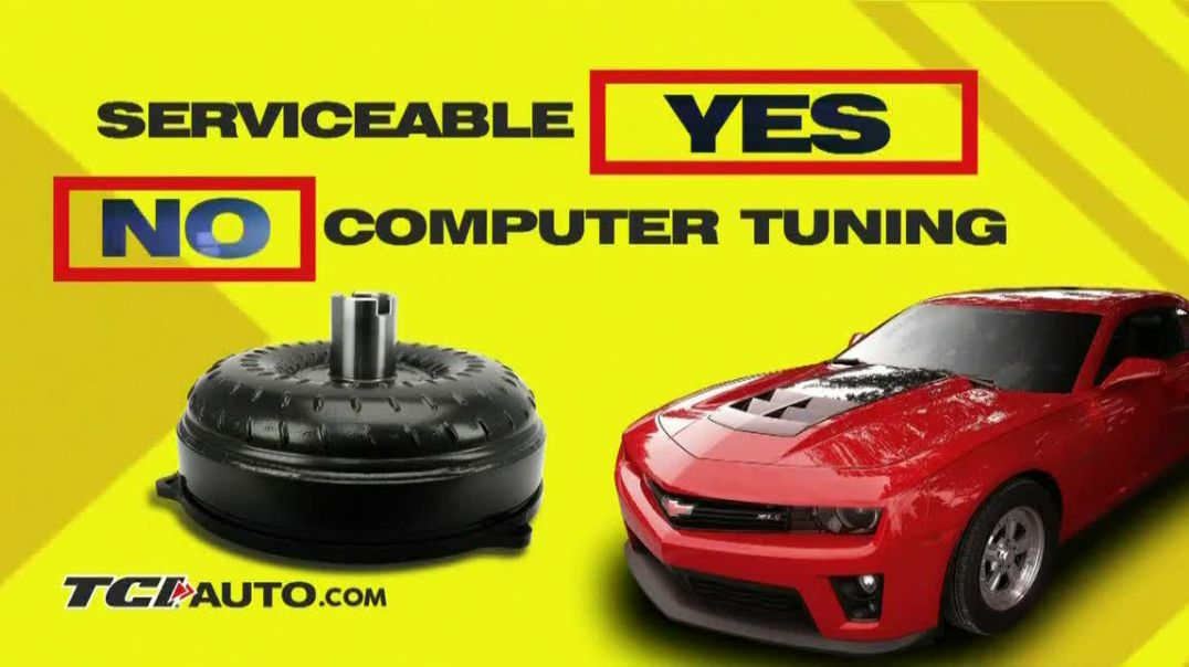 TCI Auto Bolt Together Torque Converter TV Commercial Ad, Launch