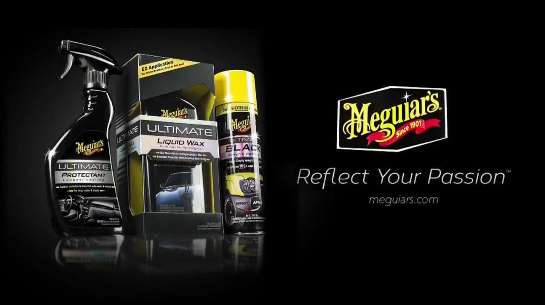 Meguiars Ultimate Wash & Wax Anywhere TV Commercial Ad, Give Your Car a Bath.mp4