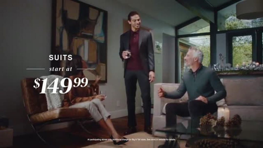 Mens Wearhouse TV Commercial Ad, Holidays 3 Shirts for $99.99.mp4
