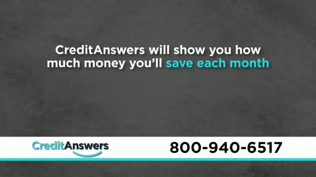 CreditAnswers TV Commercial Ad, Consumer Alert Protect Yourself.mp4