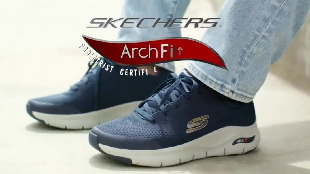 SKECHERS Arch Fit TV Commercial Ad, Stress on Our Feet.mp4