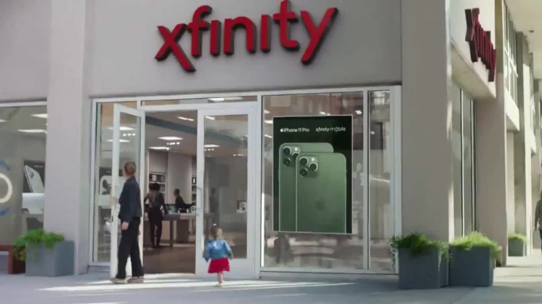 XFINITY Mobile TV Commercial Ad, First Words iPhone 11 Pro Unwrap $250 Song by Screamin Jay Hawki.mp
