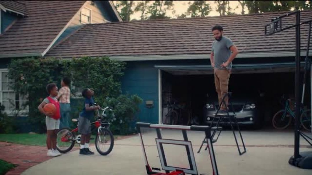 NHTSA TV Commercial Ad, The Right Seat Basketball Hoop Repair.mp4