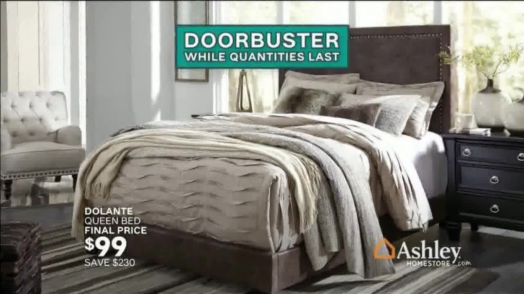 Ashley HomeStore Black Friday TV Commercial Ad, Doorbusters Wont Last Song by Midnight Riot.mp4